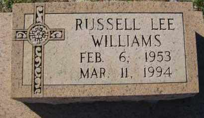 WILLIAMS, RUSSELL LEE - Glades County, Florida   RUSSELL LEE WILLIAMS - Florida Gravestone Photos