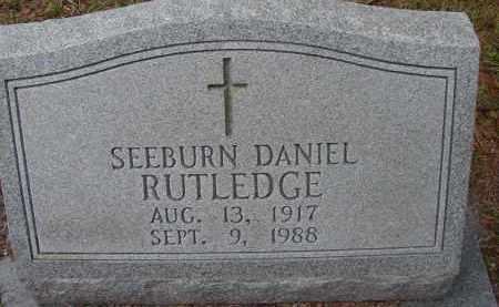 RUTLEDGE, SEEBURN DANIEL - Hendry County, Florida   SEEBURN DANIEL RUTLEDGE - Florida Gravestone Photos