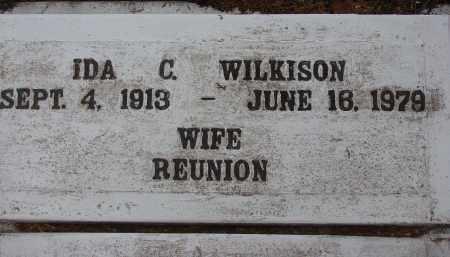 WILKISON, IDA CHRISTINE - Hendry County, Florida   IDA CHRISTINE WILKISON - Florida Gravestone Photos