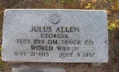 ALLEN (VETERAN WWII), JULUS - Hillsborough County, Florida   JULUS ALLEN (VETERAN WWII) - Florida Gravestone Photos