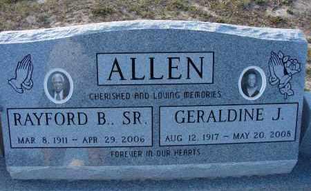 ALLEN, GERALDINE J. - Hillsborough County, Florida | GERALDINE J. ALLEN - Florida Gravestone Photos