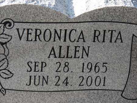 ALLEN, VERONICA RITA - Hillsborough County, Florida   VERONICA RITA ALLEN - Florida Gravestone Photos