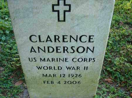 ANDERSON (VETERAN WWII), CLARENCE - Hillsborough County, Florida | CLARENCE ANDERSON (VETERAN WWII) - Florida Gravestone Photos