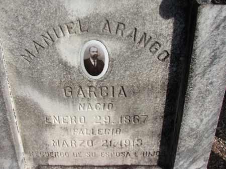 GARCIA, MANUEL ARANGO - Hillsborough County, Florida | MANUEL ARANGO GARCIA - Florida Gravestone Photos