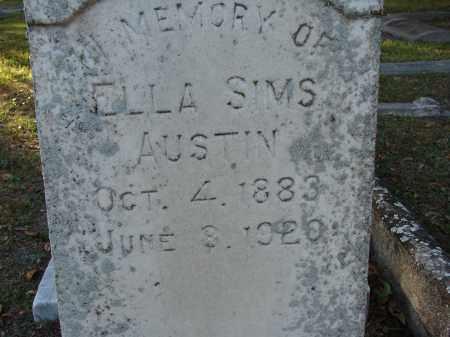 AUSTIN, ELLA SIMS - Hillsborough County, Florida | ELLA SIMS AUSTIN - Florida Gravestone Photos