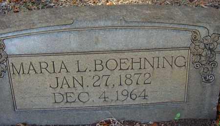 BOEHNING, MARIA LOUISE - Hillsborough County, Florida | MARIA LOUISE BOEHNING - Florida Gravestone Photos