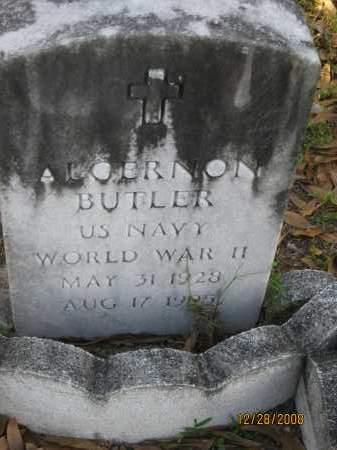 BUTLER (VETERAN WWII), ALGERNON - Hillsborough County, Florida | ALGERNON BUTLER (VETERAN WWII) - Florida Gravestone Photos