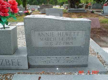 HEWETT BUZBEE, ANNIE BELLE - Hillsborough County, Florida | ANNIE BELLE HEWETT BUZBEE - Florida Gravestone Photos