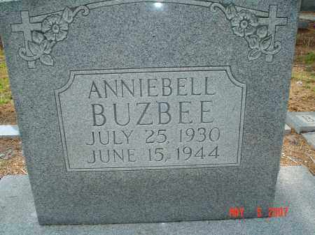 BUZBEE, ANNIEBELL - Hillsborough County, Florida | ANNIEBELL BUZBEE - Florida Gravestone Photos