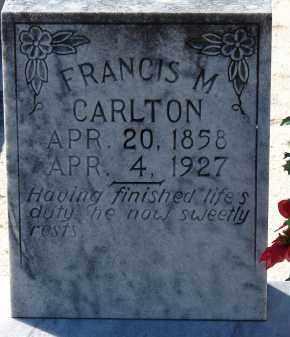 CARLTON, FRANCIS MARION - Hillsborough County, Florida | FRANCIS MARION CARLTON - Florida Gravestone Photos
