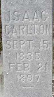 CARLTON, ISAAC FRANCIS - Hillsborough County, Florida | ISAAC FRANCIS CARLTON - Florida Gravestone Photos