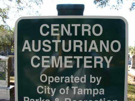 *CENTRO AUSTURIANO, SIGN - Hillsborough County, Florida | SIGN *CENTRO AUSTURIANO - Florida Gravestone Photos