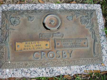 CROSBY, MARIE E - Hillsborough County, Florida | MARIE E CROSBY - Florida Gravestone Photos