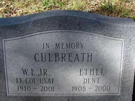 CULBREATH, ETHEL - Hillsborough County, Florida | ETHEL CULBREATH - Florida Gravestone Photos