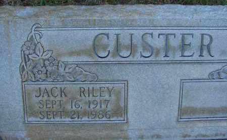 CUSTER, JACK RILEY - Hillsborough County, Florida | JACK RILEY CUSTER - Florida Gravestone Photos