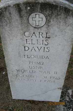DAVIS (VETERAN WWII), CARL ELLIS - Hillsborough County, Florida   CARL ELLIS DAVIS (VETERAN WWII) - Florida Gravestone Photos