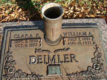 DEIMLER, WILLIAM A. - Hillsborough County, Florida | WILLIAM A. DEIMLER - Florida Gravestone Photos