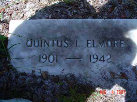 ELMORE, QUINTUS L. - Hillsborough County, Florida | QUINTUS L. ELMORE - Florida Gravestone Photos