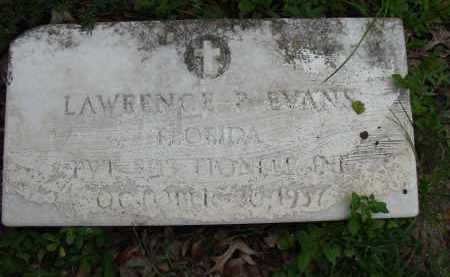 EVANS (VETERAN), LAWRENCE - Hillsborough County, Florida | LAWRENCE EVANS (VETERAN) - Florida Gravestone Photos