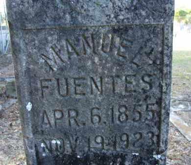 FUENTES, MANUEL - Hillsborough County, Florida   MANUEL FUENTES - Florida Gravestone Photos