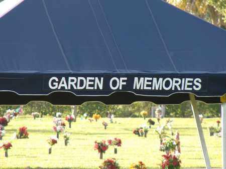 *GARDEN OF MEMORIES, SIGN - Hillsborough County, Florida | SIGN *GARDEN OF MEMORIES - Florida Gravestone Photos