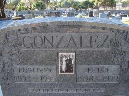 GONZALEZ, LUISA - Hillsborough County, Florida | LUISA GONZALEZ - Florida Gravestone Photos