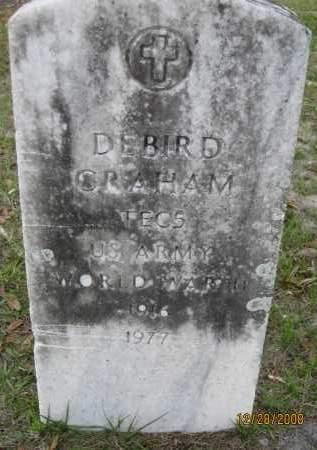 GRAHAM (VETERAN WWII), DEBIRD - Hillsborough County, Florida   DEBIRD GRAHAM (VETERAN WWII) - Florida Gravestone Photos