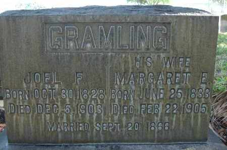 GRAMLING, JOEL F. - Hillsborough County, Florida | JOEL F. GRAMLING - Florida Gravestone Photos
