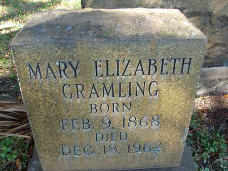 GRAMLING, MARY ELIZABETH - Hillsborough County, Florida | MARY ELIZABETH GRAMLING - Florida Gravestone Photos
