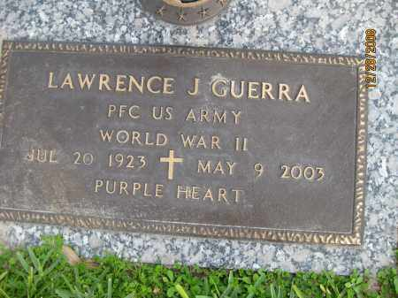 GUERRA (VETERAN WWII), LAWRENCE J - Hillsborough County, Florida | LAWRENCE J GUERRA (VETERAN WWII) - Florida Gravestone Photos