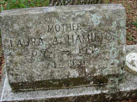 HAMILTON, LAURA A. - Hillsborough County, Florida | LAURA A. HAMILTON - Florida Gravestone Photos