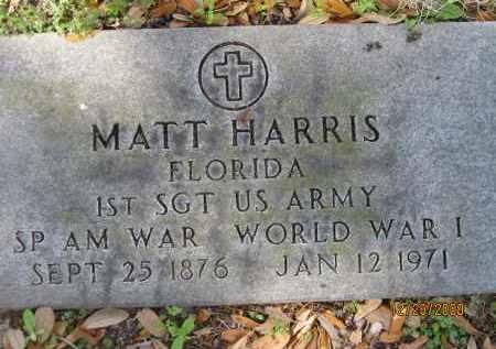 HARRIS, MATT - Hillsborough County, Florida   MATT HARRIS - Florida Gravestone Photos