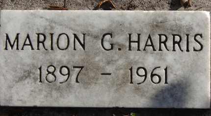 HARRIS, MARION G. - Hillsborough County, Florida | MARION G. HARRIS - Florida Gravestone Photos
