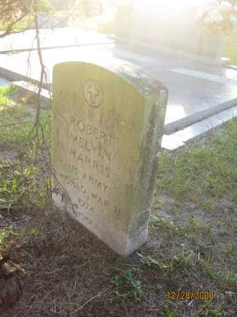 HARRIS (VETERAN WWII), ROBERT MELVIN - Hillsborough County, Florida   ROBERT MELVIN HARRIS (VETERAN WWII) - Florida Gravestone Photos