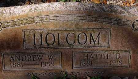 HOLCOM, HATTIE B. - Hillsborough County, Florida | HATTIE B. HOLCOM - Florida Gravestone Photos