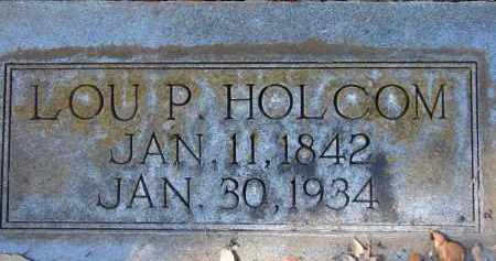 HOLCOM, LOU P. - Hillsborough County, Florida | LOU P. HOLCOM - Florida Gravestone Photos