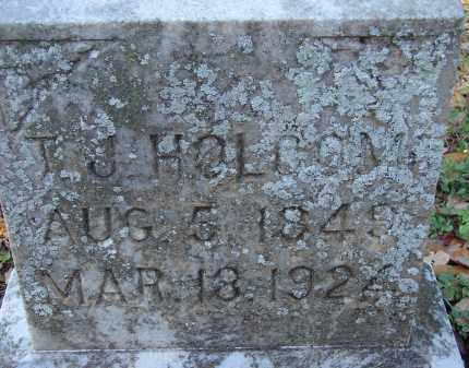 HOLCOM, T. J. - Hillsborough County, Florida | T. J. HOLCOM - Florida Gravestone Photos