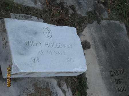 HOLLOWAY (VETERAN), WILEY - Hillsborough County, Florida   WILEY HOLLOWAY (VETERAN) - Florida Gravestone Photos