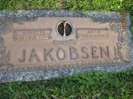 JAKOBSEN, ANNETTE - Hillsborough County, Florida | ANNETTE JAKOBSEN - Florida Gravestone Photos