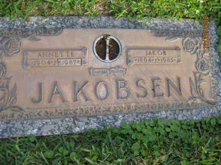 JAKOBSEN, JAKOB - Hillsborough County, Florida | JAKOB JAKOBSEN - Florida Gravestone Photos