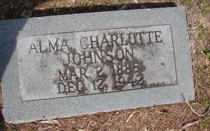 JOHNSON, ALMA CHARLOTTE - Hillsborough County, Florida   ALMA CHARLOTTE JOHNSON - Florida Gravestone Photos