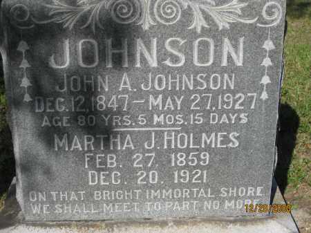 JOHNSON, JOHN A - Hillsborough County, Florida   JOHN A JOHNSON - Florida Gravestone Photos