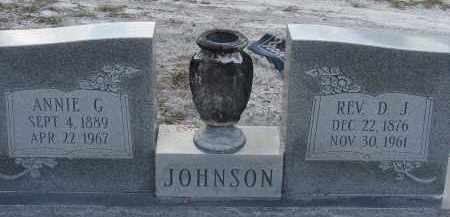 JOHNSON, ANNIE G. - Hillsborough County, Florida   ANNIE G. JOHNSON - Florida Gravestone Photos