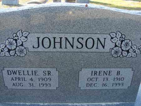 JOHNSON, IRENE B. - Hillsborough County, Florida | IRENE B. JOHNSON - Florida Gravestone Photos