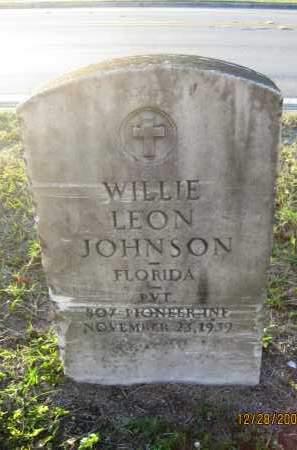JOHNSON, WILLIE LEON - Hillsborough County, Florida | WILLIE LEON JOHNSON - Florida Gravestone Photos