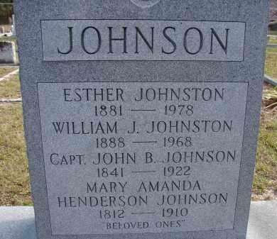 JOHNSTON, WILLIAM J. - Hillsborough County, Florida | WILLIAM J. JOHNSTON - Florida Gravestone Photos