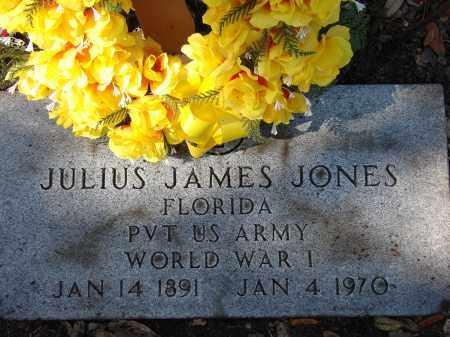 JONES (VETERAN WWI), JULIUS JAMES - Hillsborough County, Florida | JULIUS JAMES JONES (VETERAN WWI) - Florida Gravestone Photos