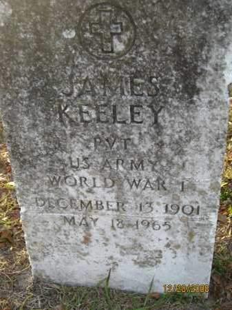 KEELEY (VETERAN WWI), JAMES - Hillsborough County, Florida | JAMES KEELEY (VETERAN WWI) - Florida Gravestone Photos