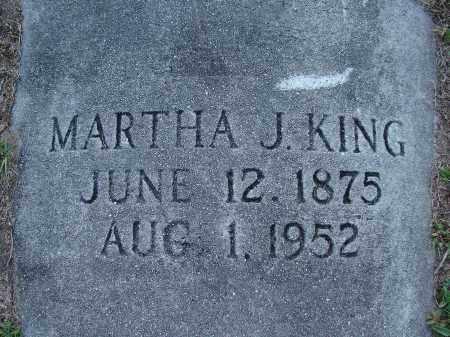 KING, MARTHA J. - Hillsborough County, Florida | MARTHA J. KING - Florida Gravestone Photos