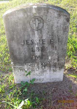LEE (VETERAN WWI), JESSIE E - Hillsborough County, Florida | JESSIE E LEE (VETERAN WWI) - Florida Gravestone Photos